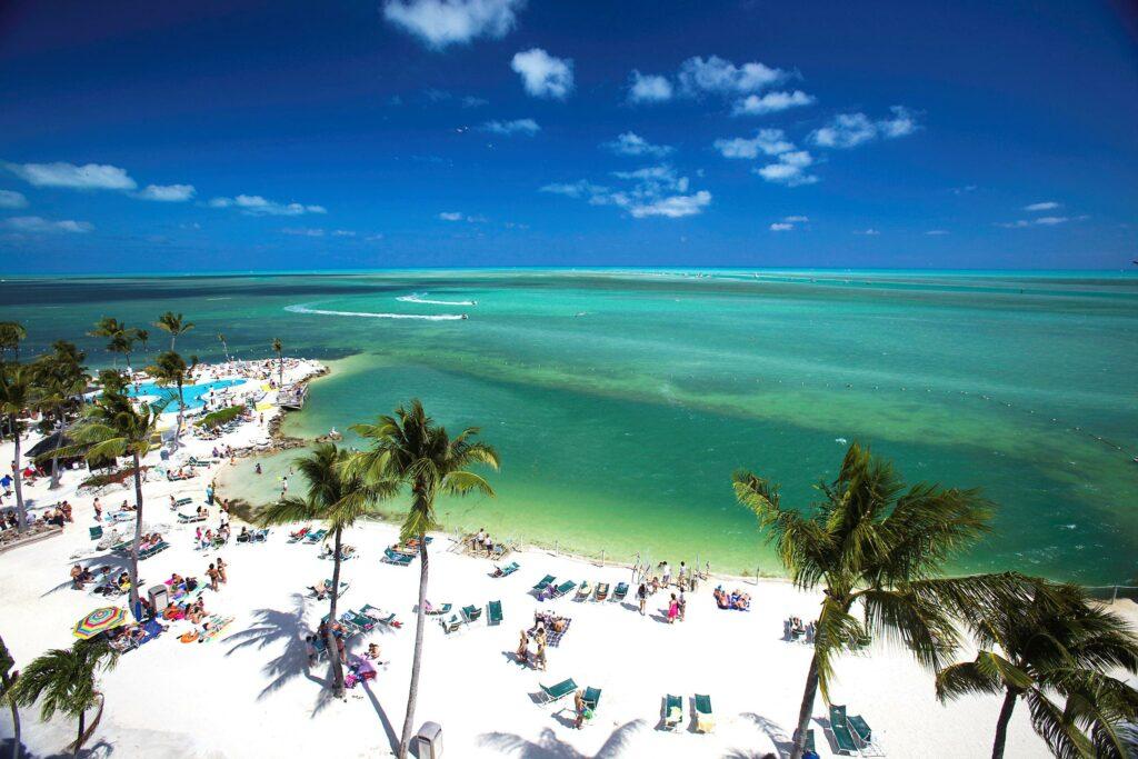 postcard inn islamorada florida beach coastline
